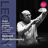 Holst: The Planets - Britten: The Young Person's Guide to the Orchestra by Gennady Rozhdestvensky