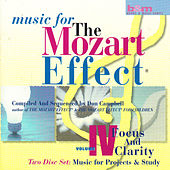 Music for the Mozart Effect: Volume 4, Focus and Clarity by Various Artists