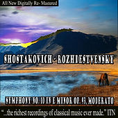 Rozhdestvensky - Shostakovich Symphony No. 10 in E Minor Op. 93 by USSR Ministry of Culture Symphony Orchestra