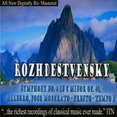 Rozhdestvensky Symphony No. 4 in C Minor Op. 43 by USSR Ministry of Culture Symphony Orchestra