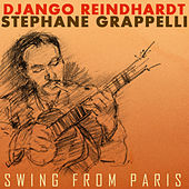 Django Reinhardt and Stephane Grappelli Swing from Paris by Django Reinhardt