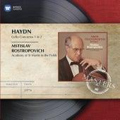 Haydn: Cello Concertos by Mstislav Rostropovich