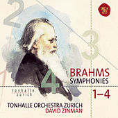 Brahms: Symphonies 1-4 by David Zinman