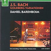 Bach, JS : Goldberg Variations by Daniel Barenboim
