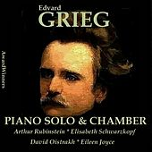 Grieg Vol. 3 - Piano Solo - Chamber Works by Various Artists