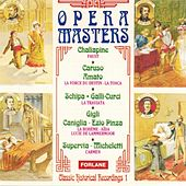 Opéra Masters: Carmen, La Traviata, La Bohème... (Classic Historical Recordings 1) by Various Artists