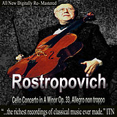 Rostropovich Cello Concerto in A Minor Op. 33, Allegro non troppo by Mstislav Rostropovich