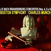 Brandenburg Concertos Nos 4, 5 & 6 by Boston Symphony Orchestra
