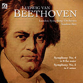 Beethoven: Symphonies Nos. 4 & 5 by London Symphony Orchestra