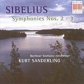 Sibelius: Symphonies Nos. 2 and 3 by Berlin Symphony Orchestra Kurt Sanderling