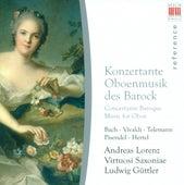 Oboe and Oboe d'amore Concertos - Johann Sebastian Bach /  Antonio Vivaldi / Georg Philipp Telemann / Johann Georg Pisendel / Johann Wilhelm Hertel by Various Artists