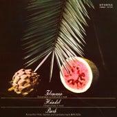 Telemann: Trio Sonata, TWV 42:a4, c2 / Händel: Flute Sonata, Op. 1, No. 9 / Bach: Trio Sonata No. 1 by Hans Pischner, Hans-Peter Schmitz, Werner Haupt