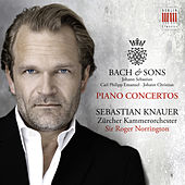 Bach & Sons: Piano Concertos by Sir Roger Norrington Sebastian Knauer