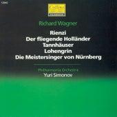 Wagner: Rienzi - Der fliegende Hollander - Tannhauer - Lohengrin - Die Meistersinger von Nurnberg by Philharmonia Orchestra