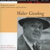 Walter Gieseking (1933-1947) by Walter Gieseking