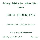 Bjorling, Jussin: The Atlanta Recital (1959) by Jussi Bjorling