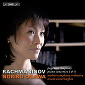 Rachmaninov: Piano Concertos Nos. 1 & 4 - Rhapsody on a Theme of Paganini by Noriko Ogawa
