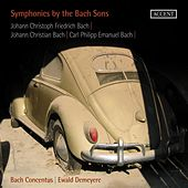 Symphonies by the Bach Sons by Bach Concentus