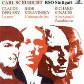 Debussy: La mer - Stravinksy: The Firebird Suite - Strauss: Also sprach Zarathustra (1952-1957) by Stuttgart Radio Symphony Orchestra