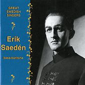 Great Swedish Singers: Erik Saeden by Erik Saeden