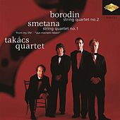 Borodin: String Quartet No. 2 / Smetana: String Quartet No. 1 by Takacs Quartet