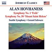 Hovhaness: Symphonies Nos. 1, 'Exile Symphony' and 50, 'Mount St. Helen' by Various Artists