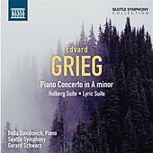 Grieg: Piano Concerto - Holberg Suite - Lyric Suite by Various Artists