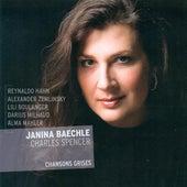 Vocal Recital: Baechle, Janina - Hahn, R. / Zemlinsky, A. Von / Boulanger, L. / Milhaud, D. / Mahler, A.M. by Janina Baechle