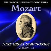 Mozart Nine Great Symphonies Volume IV by London Philharmonic Orchestra