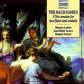 The Bach Family: 5 Trio Sonatas for Two Flutes and Cembalo by Maxence Larrieu