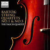 Bartók: String Quartets No.1 & No.5 by Talich Quartett
