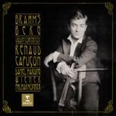 Brahms Berg Violin Concertos by Renaud Capuçon