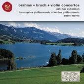 Brahms & Bruch, Violin Concertos by Pinchas Zukerman