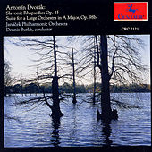 Slavonic Rhapsodies Op. 45, Suite in A Major, Op. 98b by Antonin Dvorak