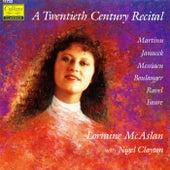 Twentieth Century Recital by Lorraine McAslan