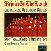 Rejoice In The Lamb by Benjamin Britten
