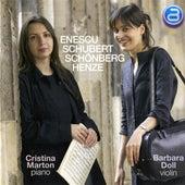 Enescu - Schubert - Schoenberg - Henze by Barbara Doll