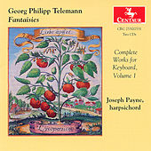 Fantasies, Complete Works For Keyboard by Georg Philipp Telemann