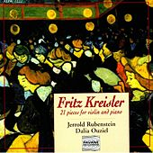 Kreisler: 21 Pieces for Violin and Piano by Jerrold Rubenstein