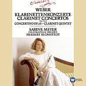 Weber : Clarinet Concertos 1 & 2/Concertino in E flat/Clarinet Quintet by Various Artists