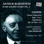Arthur Rubinstein - In His Golden Years, Vol. 2 by Arthur Rubinstein