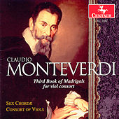 Third Book of Madrigals for Viol Consort by Claudio Monteverdi