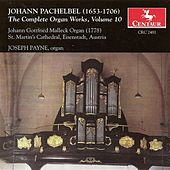 The Complete Organ Works, Vol. 10 by Johann Pachelbel