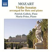 Mozart: Violin Sonatas arranged for flute & piano by Patrick Gallois