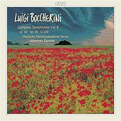 Boccherini: Complete Symphonies, Vol. 8 by German Chamber Academy