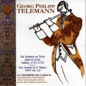 Six Sonates En Trois Dans Le Gout by Georg Philipp Telemann