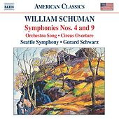 Symphonies Nos. 4 and 9 by William Schuman