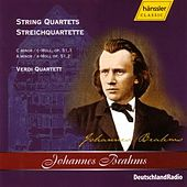 String Quartets Op. 51, Nos. 1 and 2 by Johannes Brahms