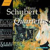Quartett D 87, Menuett D 86, Menuette and Deutsche D 89 by Franz Schubert