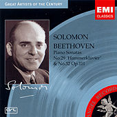 Piano Sonata Nos. 29 and 32 by Ludwig van Beethoven